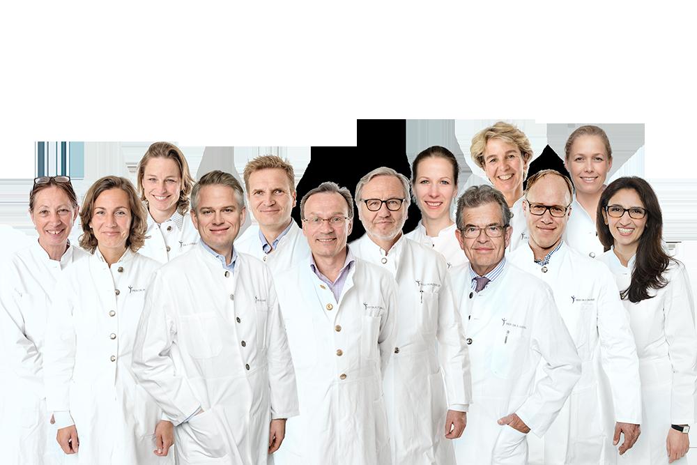 Ihr Ärzteteam des Mammazentrum Hamburg | (c) Martin Zitzlaff, www.zitzlaff.com