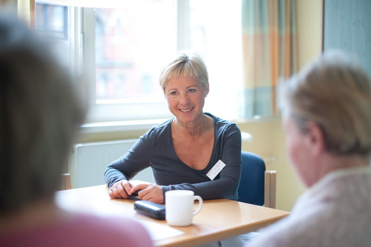 Sabine Scheefe, BCN Stiftung Mammazentrum Hamburg | (c) Martin Zitzlaff, www.zitzlaff.com